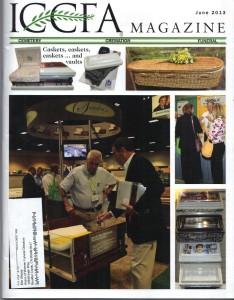 Cover of ICCFA Magazine June 2013