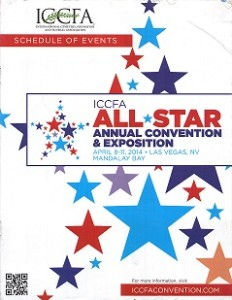 Cover of the 2014 ICCFA Convention Guide