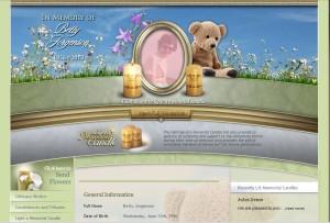 Image of Book of Memories™ Memorial Website