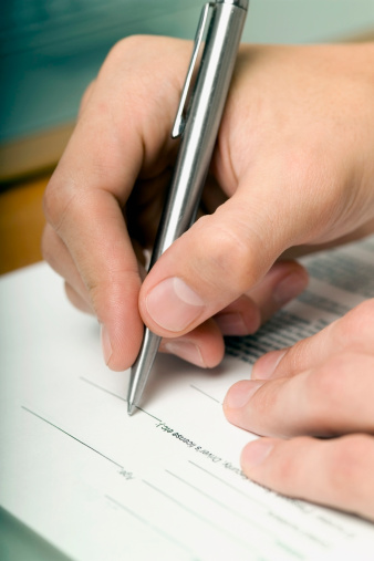 Writing Forms by Hand