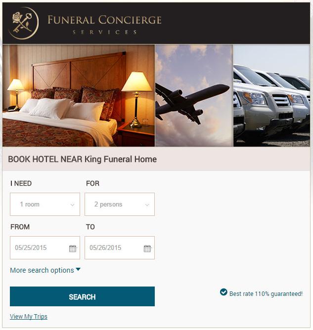 funeral trip planner