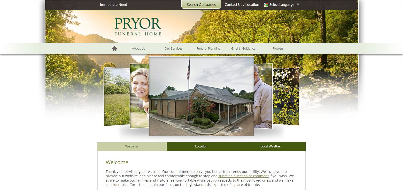 Pryor Funeral Home U2013 Calhoun City, MS. Pryor Fh. Pryor Funeral Homeu0027s  Website ...