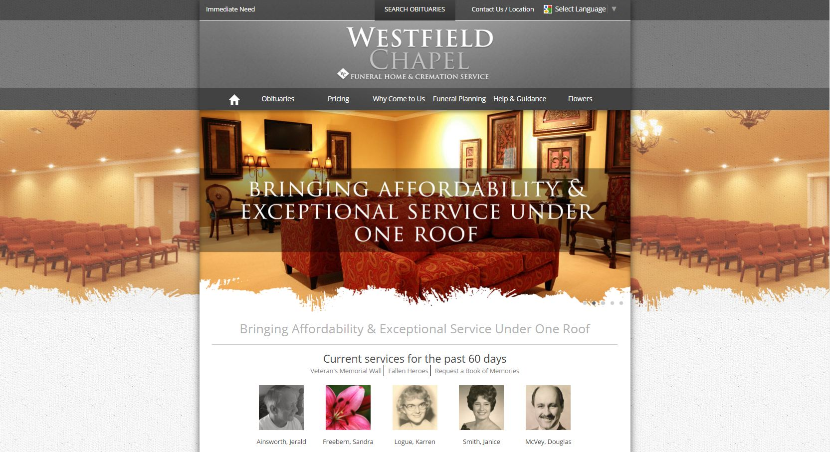 20 stand-out funeral home website designs from 2015 that have
