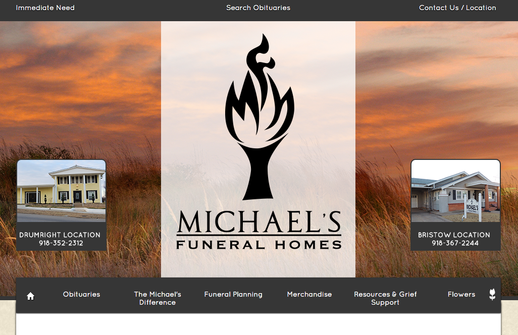 Funeral Home Website Design