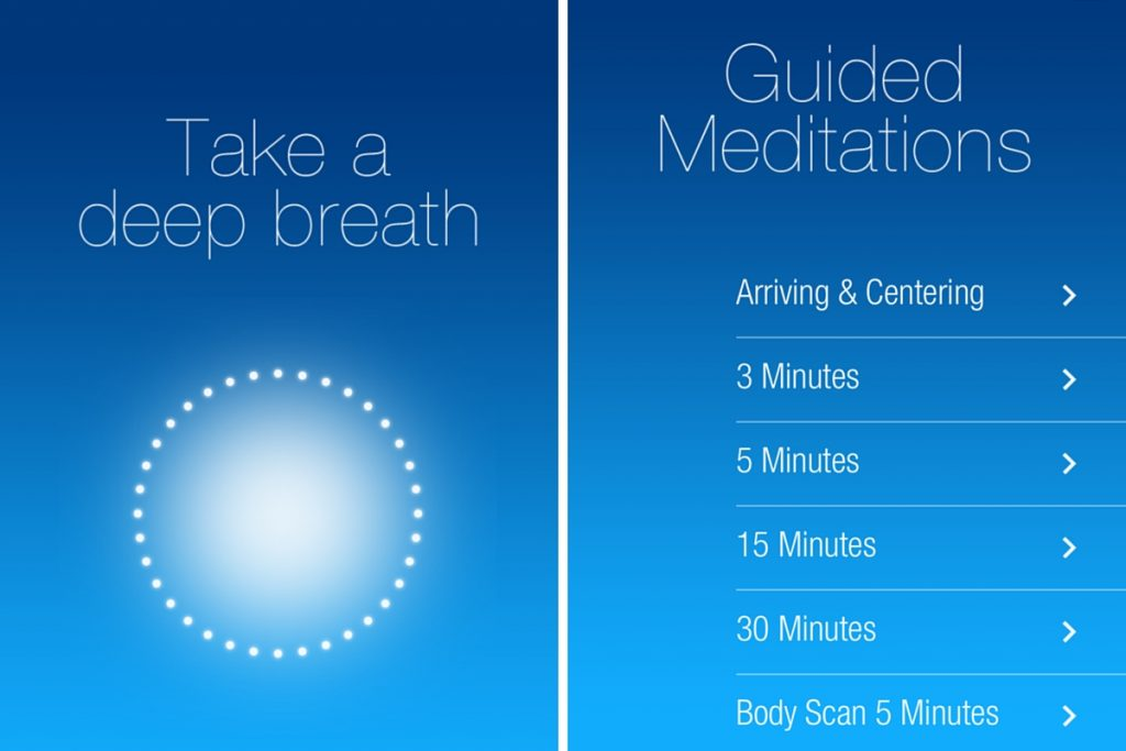 meditation and productivity app