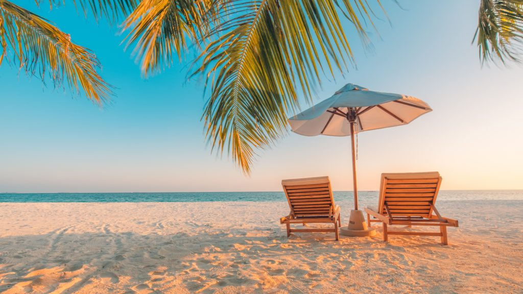 island beach vacation