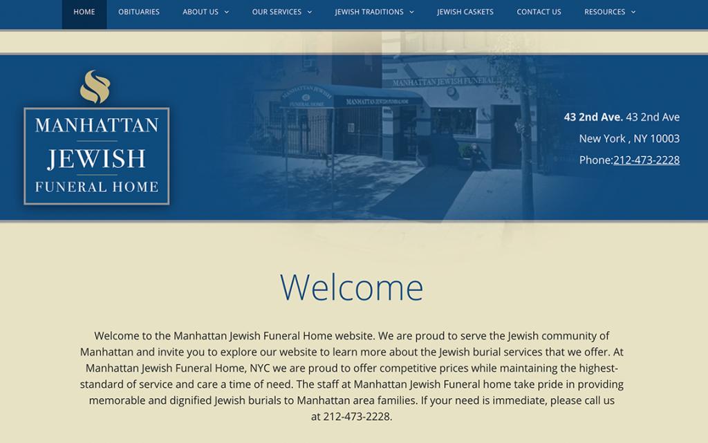 Best of funeral home website designs 2018
